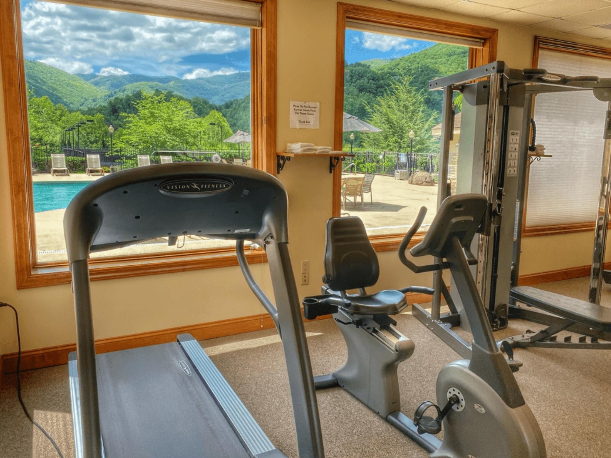 Smoky Mountain Country Club FItness Room
